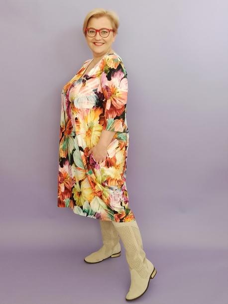 Sukienka LOLITA duże kwiaty (1)