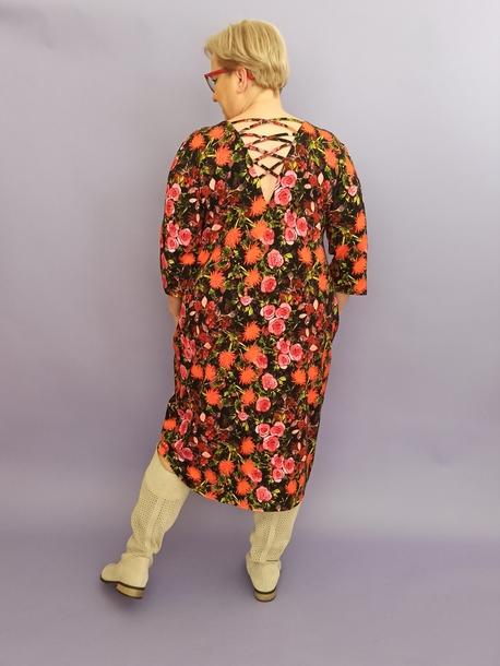 Sukienka LOLITA drobne kwiaty (1)