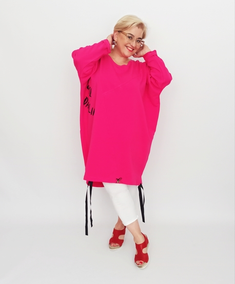 Tuniko-bluza Darling różowa