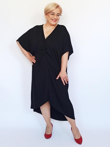 Sukienka supełek czarna