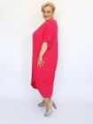 Sukienka supełek fuksja (2)