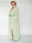 Sukienka koszulowa pistacjowa (2)