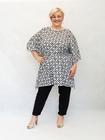Tunika kimono czarno-biała (2)