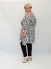 Tunika kimono czarno-biała (4)