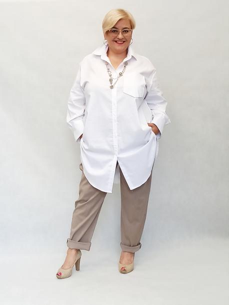 Koszula długa biała