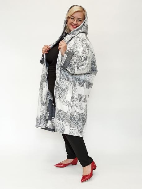Oversizowy płaszcz hiszpańska koronka
