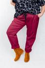 Spodnie bawełniane bordowe (1)