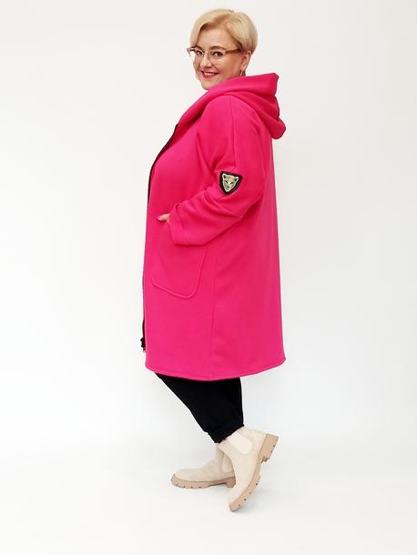 Ocieplana bluza różowa
