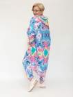 Dres kolorowy długa bluza (2)