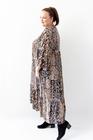 Sukienka długa panterka
